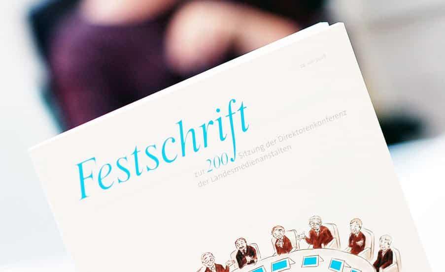 Projekt: Festschrift / Direktorenkonferenz der deutschen Landesmedienanstalten