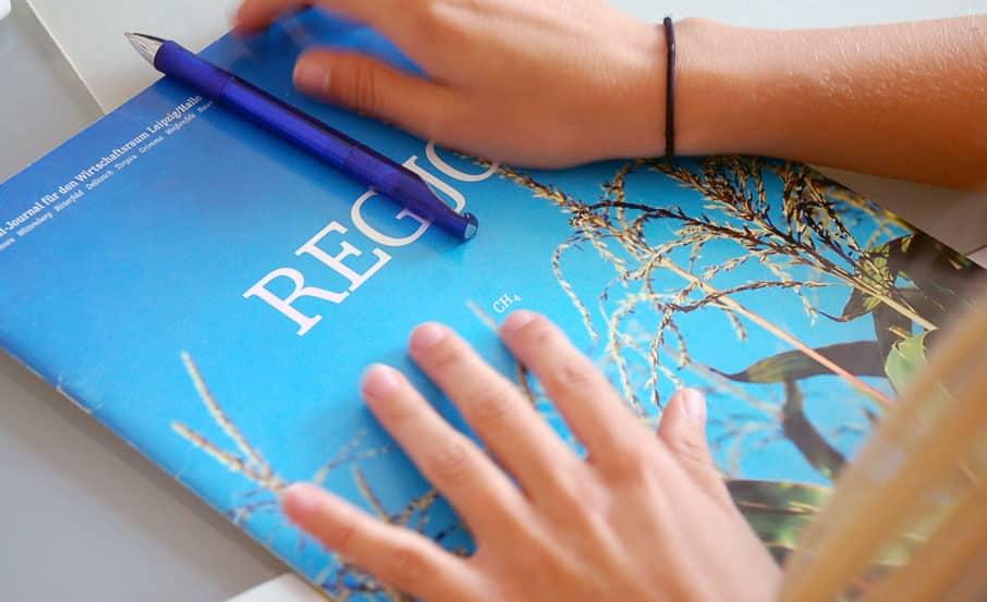 Projekt:  Wirtschaftsmagazin / REGJO-Agentur für regionales Marketing GmbH
