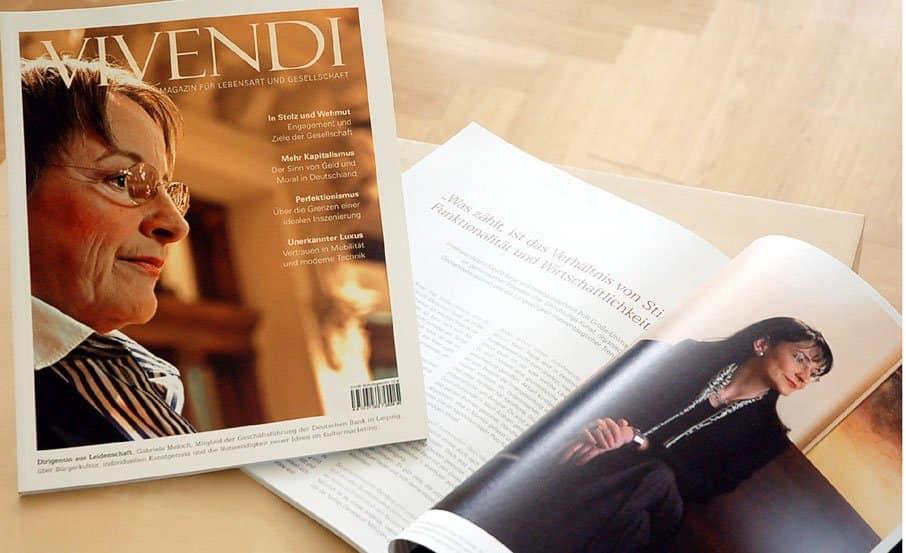 """Projekt:  Sponsorenmagazin """"Vivendi"""" / Opernball Leipzig"""