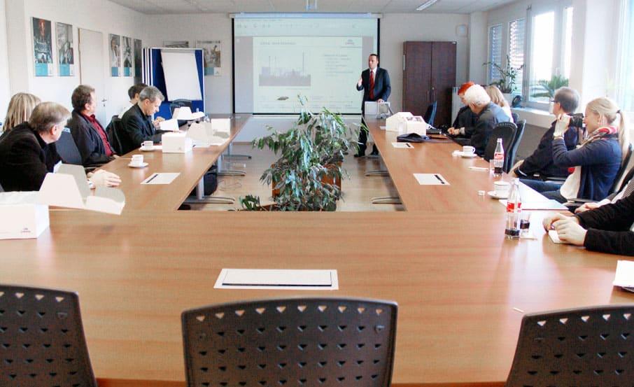 Projekt: Pressekonferenz / Location URSA Deutschland