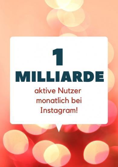 1-milliarde-nutzer content marketing instagram