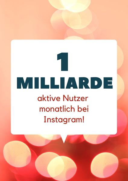 1-milliarde-nutzer content marketing instagram