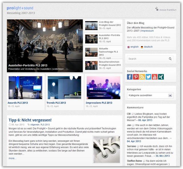 Relaunch in Frankfurt Web Agentur FFM