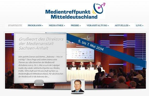 Werbeagentur übernimmt erneut Event PR für Mitteldeutschen Medientreffpunkt