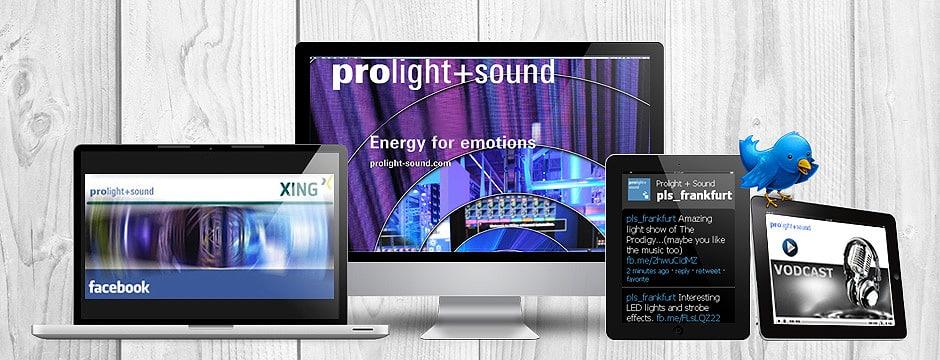 Messe Event Agentur Frankfurt: Online-Redaktion betreut Messe-Blog vor, während und nach der Prolight + Sound