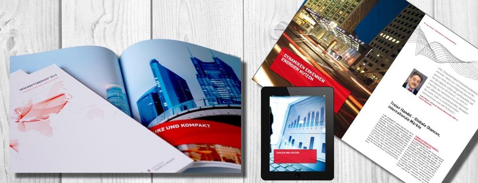Corporate Editors produzieren Geschäftsbericht für GTAI