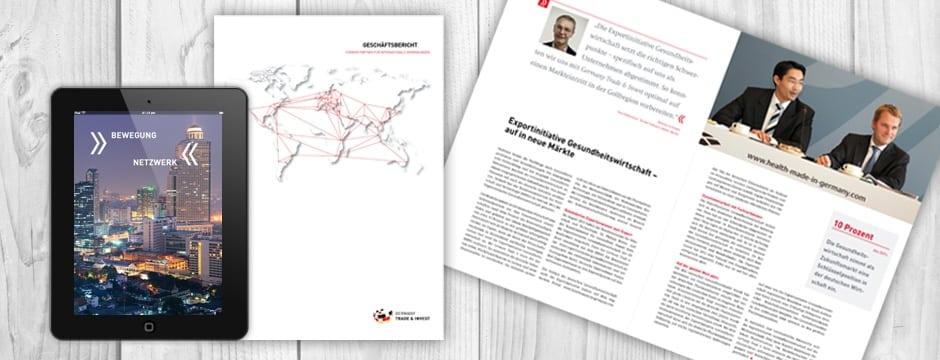 Agentur für Kommunikation und Geschäftsbericht, Digitale Geschäftsberichte