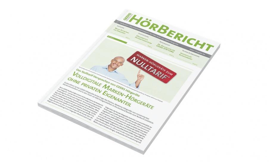 Kundenmagazin für GEERS