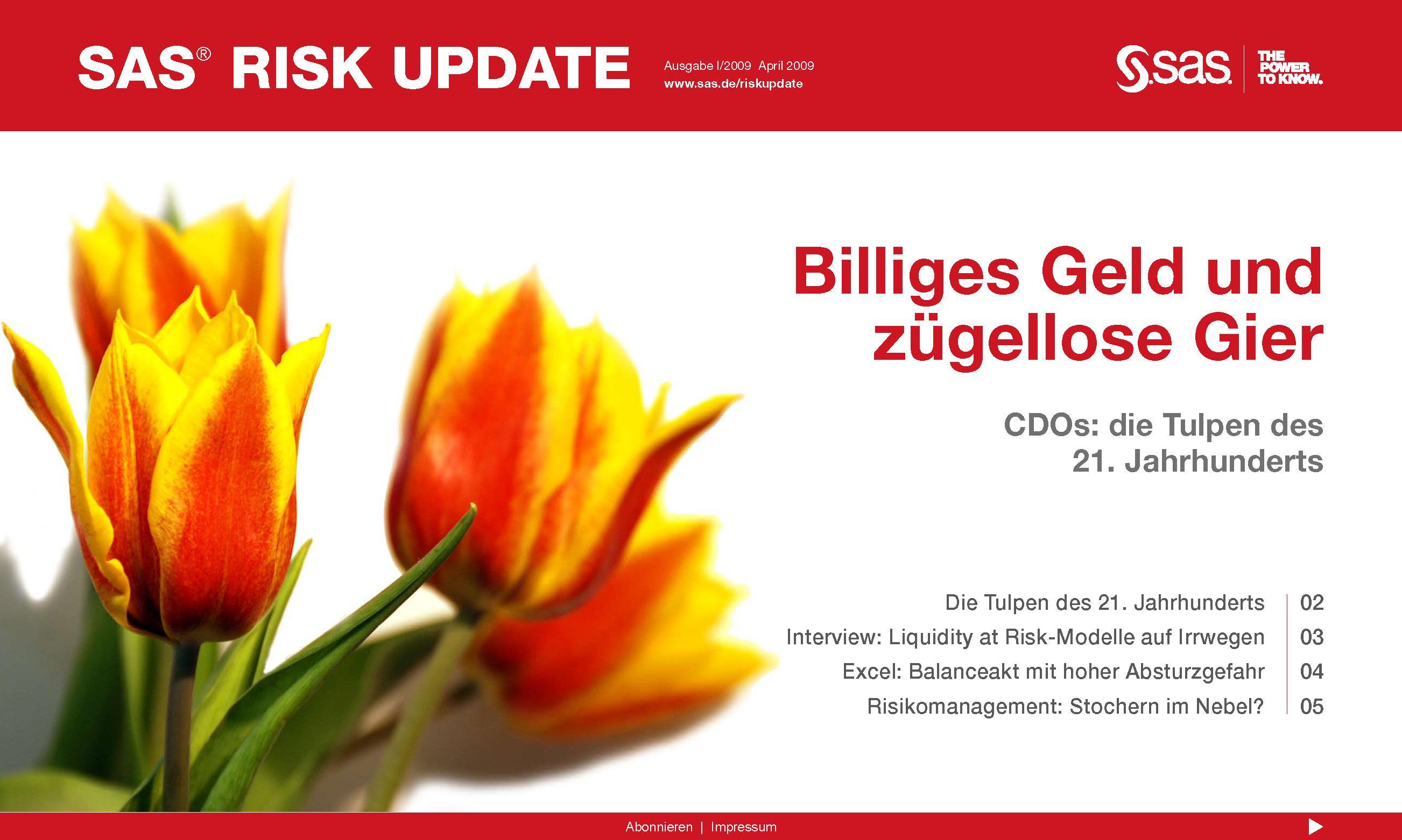 B2B Marketing Agentur erstellt im Rahmen des Konferenz-Marketing eMagazine für Risk-Gipfel