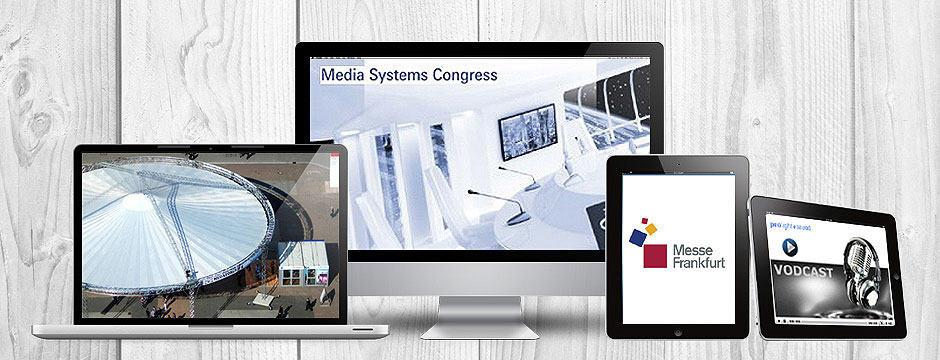 PR-Agentur verantwortet multimediale Kongress Berichterstattung für Media Systems Congress in Frankfurt