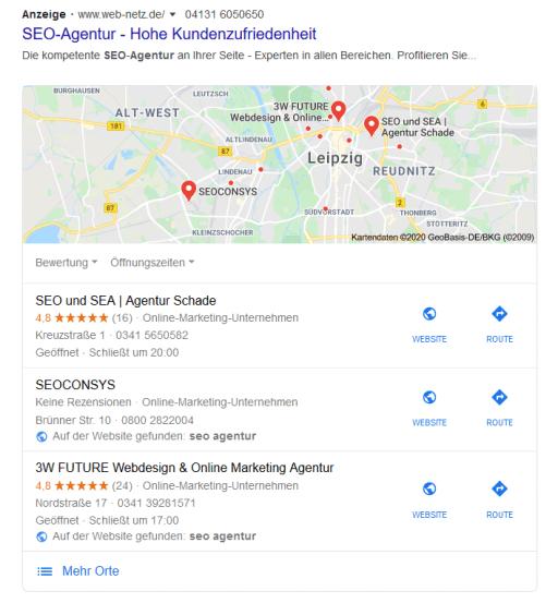 SEO Google Maps Marketing