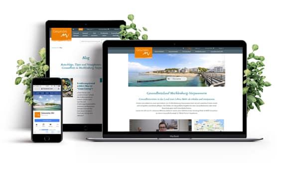 Internetagentur Tourismus Webseite