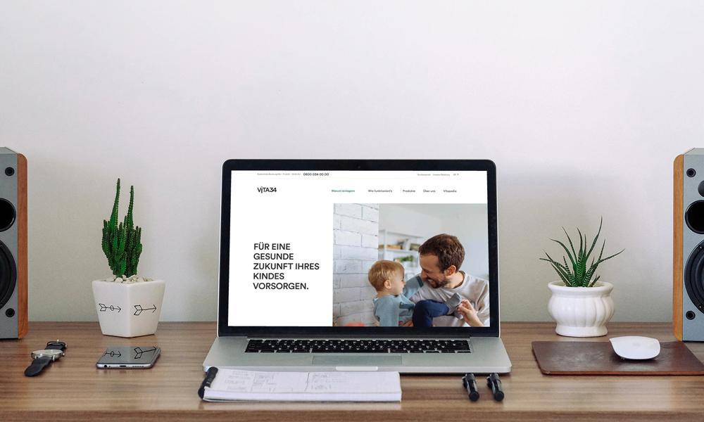 Online-Kommunikation für Vita34