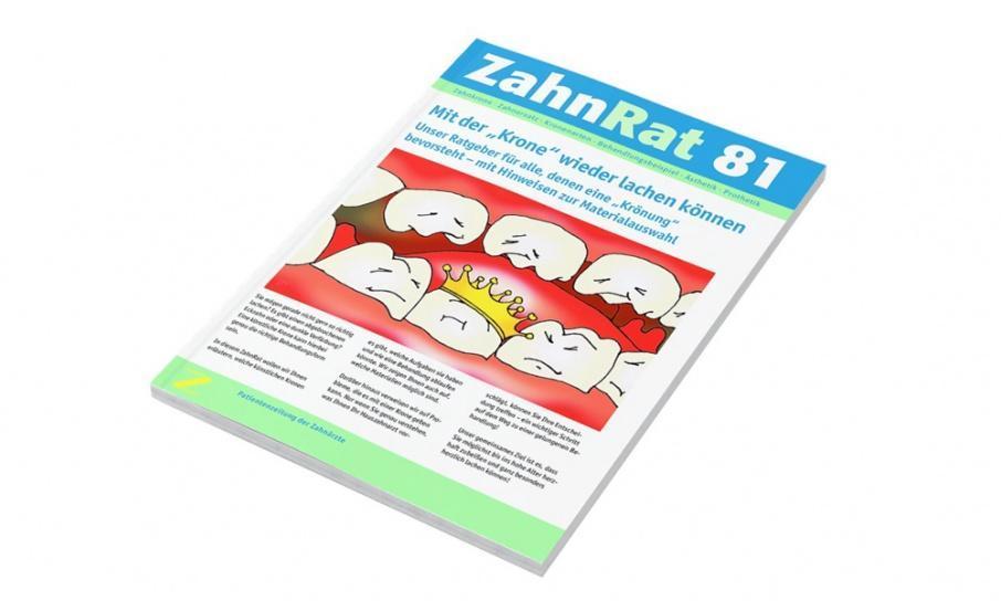 Magazin Redaktion arbeitet für Zahnärzte