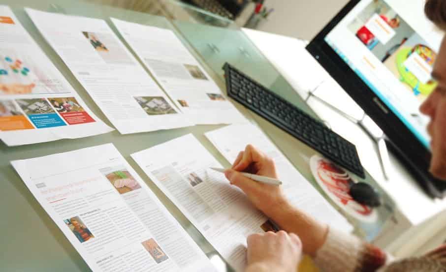 agentur und redaktion für Mitarbeitermagazin