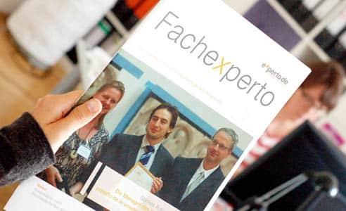 Online Beratungsportal beauftragt Content Marketing Agentur mit Fachmagazin