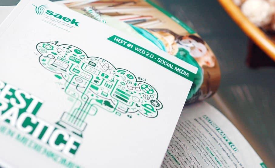 Projekt:  Best-Practice-Broschüre / Sächsische Ausbildungs- und Erprobungskanäle (SAEK)
