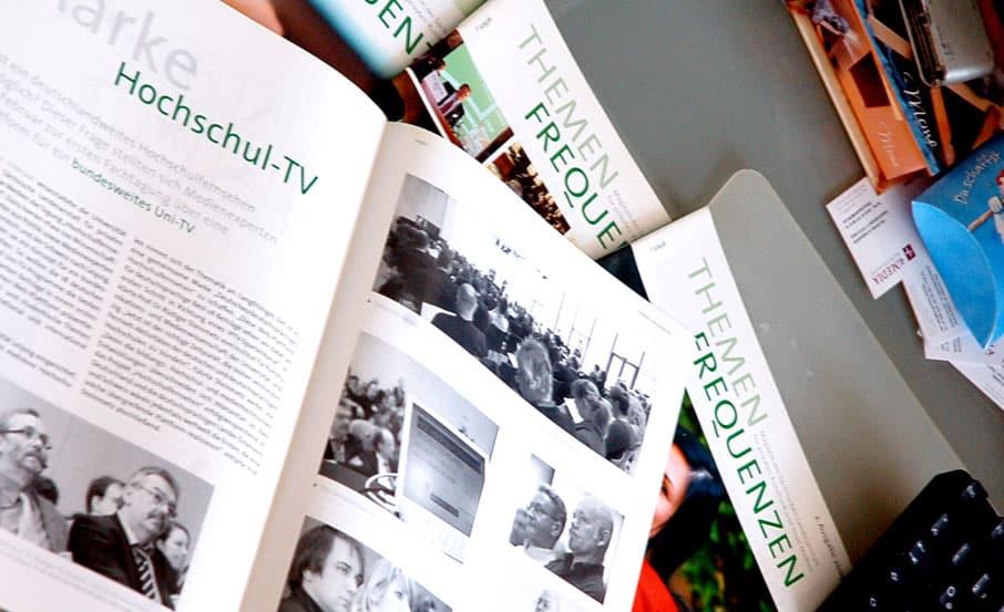 """Projekt:  Fachmagazin """"Themen & Frequenzen"""" / Landesmedienanstalt für privaten Rundfunk und neue Medien (SLM)"""
