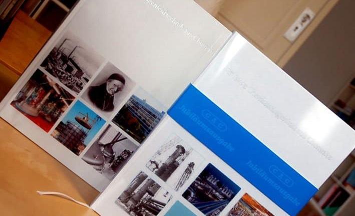 Corporate Publishing Agentur produziert zwei Jubiläumsbroschüren