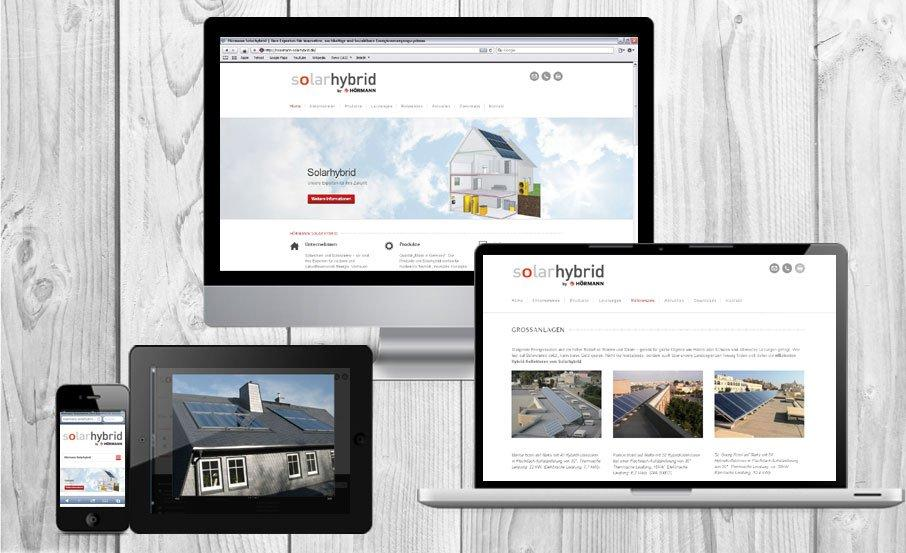 Energie Marketing: Web-Agentur relauncht Online-Auftritt von Hoermann Solarhybrid