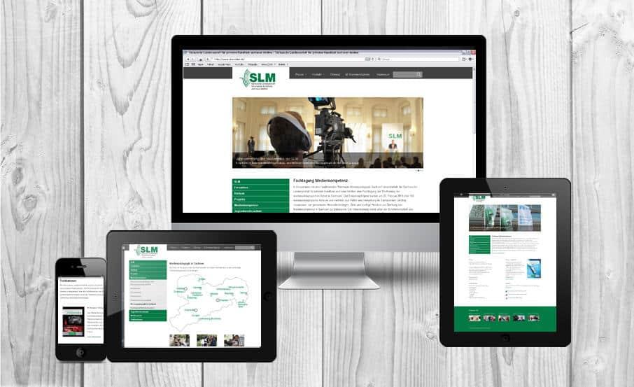 Webagentur Relaunch gestaltet SLM-Auftritt neu