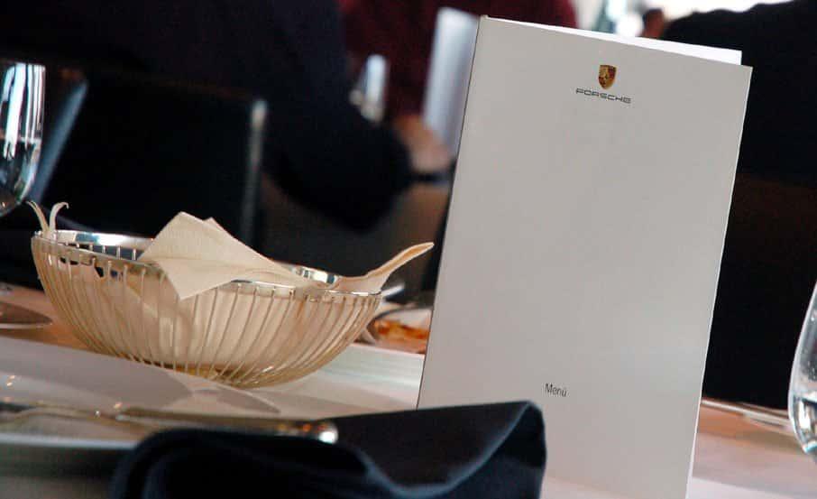Projekt: Organisation Pressegespräch / Location Porsche AG