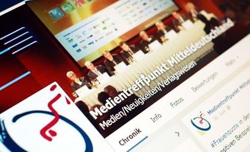 Social Media Marketing für Fachkongress Mitteldeutscher Medientreff