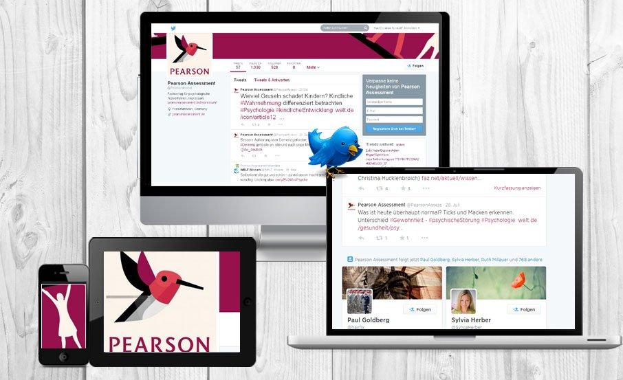 Online Marketing Agentur betreut Fachverlag Pearson