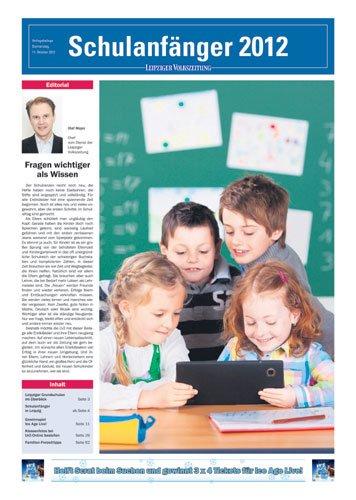 CP Agentur produziert Sonderbeilage der Leipziger Volkszeitung zum Schulanfang 2012