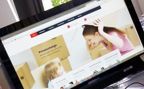 Webdesign Unternehmen relauncht Internetauftritt von Logistik-Unternehmen