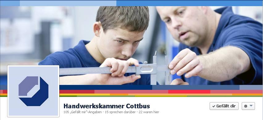 Agentur gratuliert der Handwerkskammer Cottbus zum 60. Jubiläum