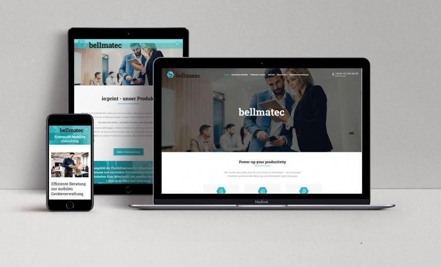 Agentur für Onlinemarketing unterstützt bellmatec
