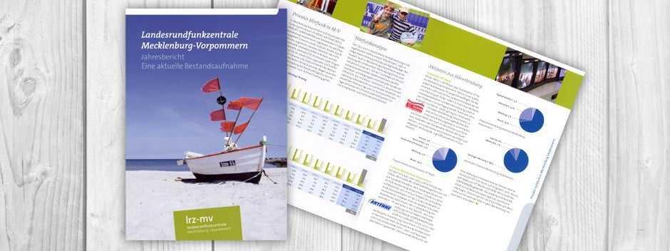 Geschäftsberichte Landesrundfunkzentrale MV