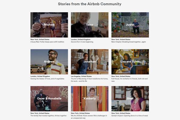 brand storytelling airbnb