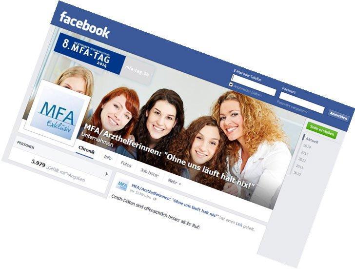 Online Marketingagentur betreut Facebook-Auftritt der MFAs