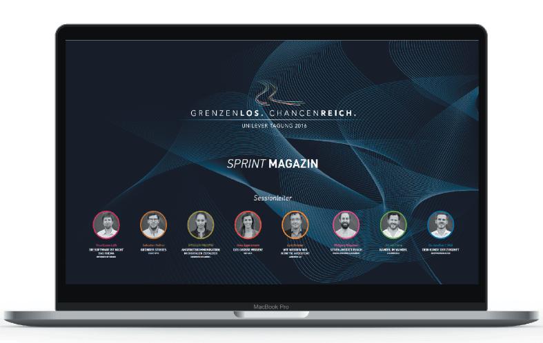 Redaktion für E-Magazine
