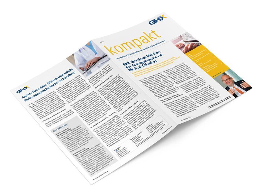 "Content-Marketing-Strategie Agentur GHX Magazin ""kompakt"""