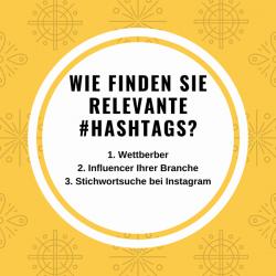 hashtag-suche