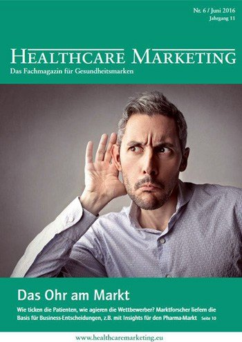 Titlebild Healthcare Marketing Magazin
