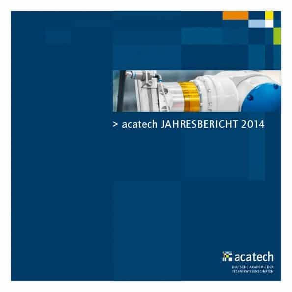 Agentur produziert Jahresbericht für acatech