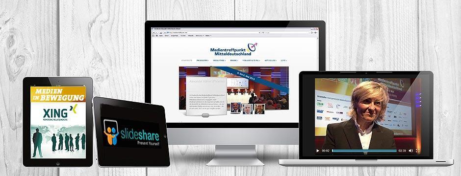 Agentur übernimmt Live-Berichterstattung für Medienkongress