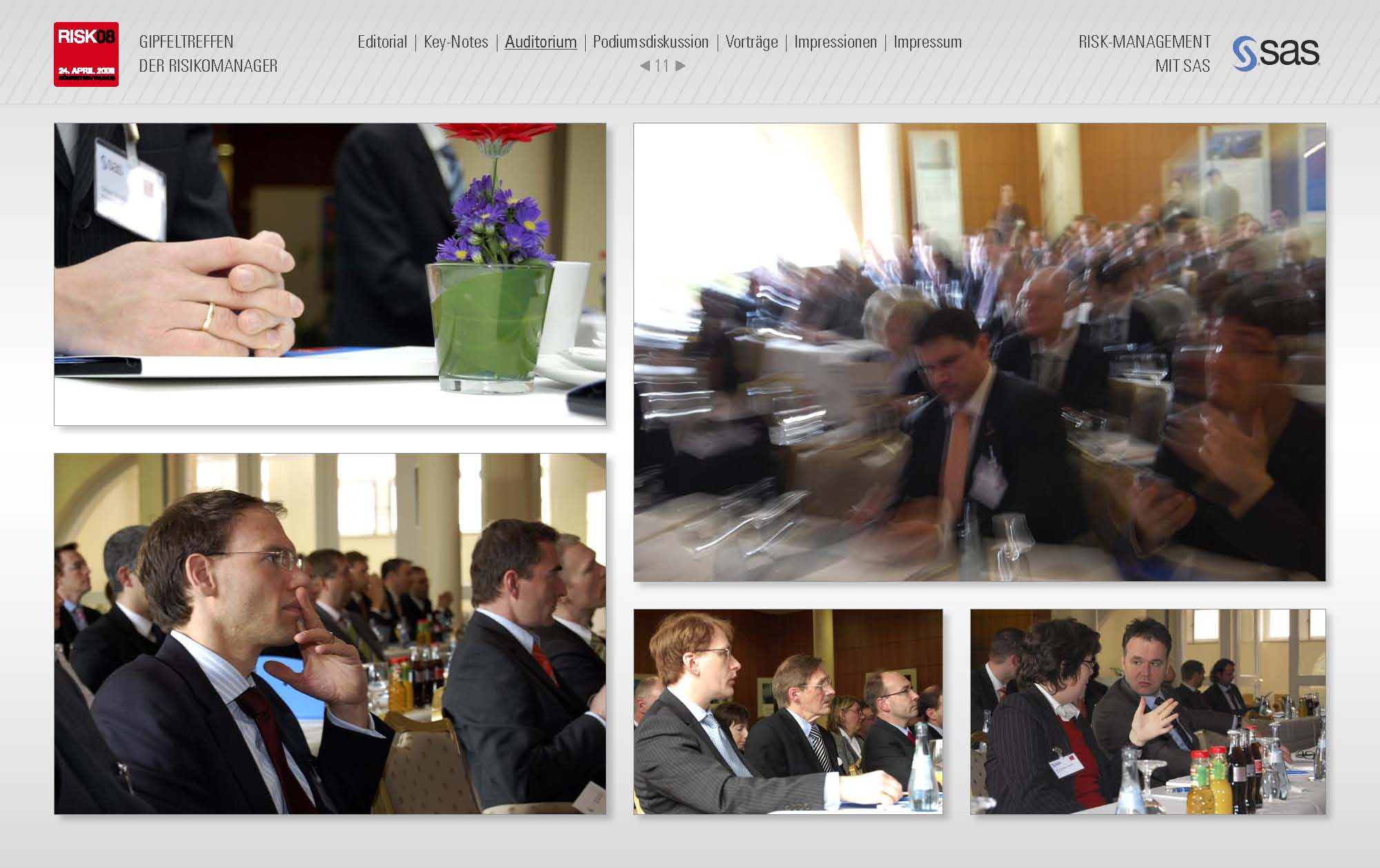 Online Marketing Konferenz: Produktion eines crossmedialen Magazin