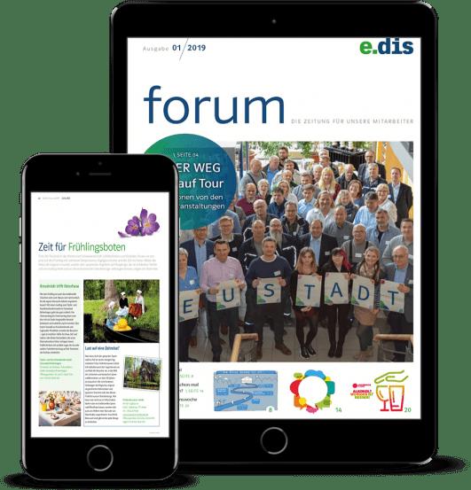 Mitarbeitermagazin_forum_EDIS