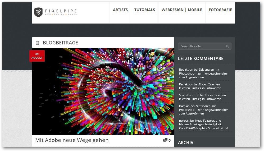 Agentur erstellt Online-Content für pixelpipe.de
