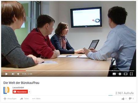 Online PR Agentur produziert Recruiting Videos
