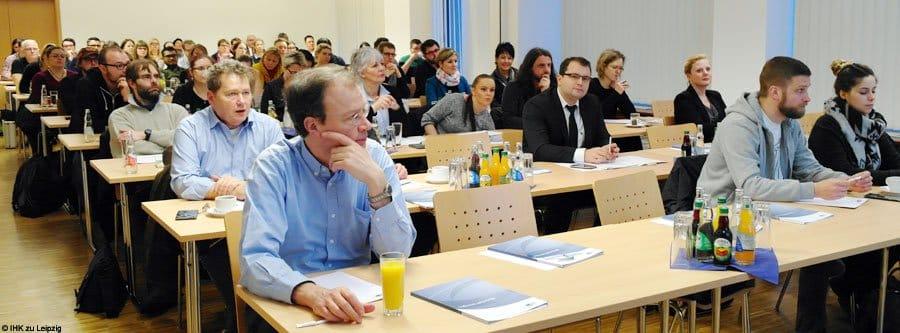 PR Agentur Social Media hält Vortrag © IHK zu Leipzig