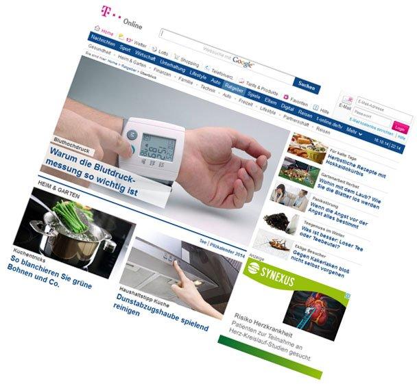 T-Online.de / Ratgeber-Content, Portal-Themenplanung