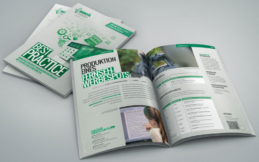 Content Agentur produziert 2. Best Practice Broschüre für SAEK