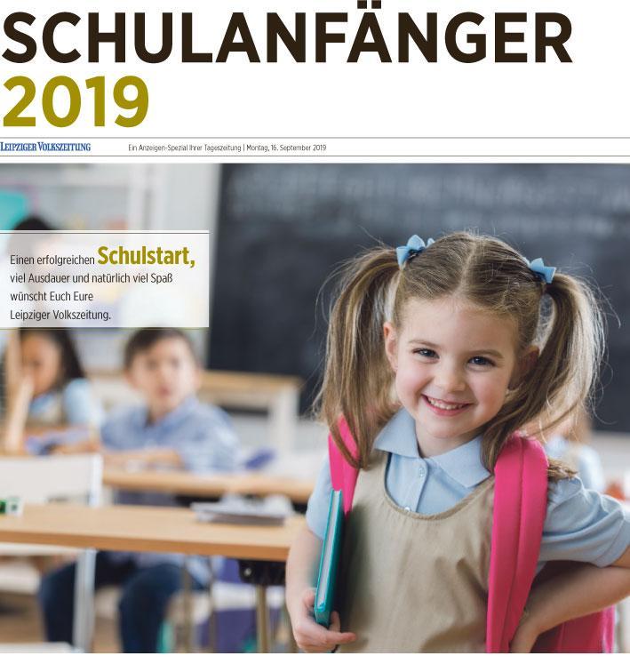 Kommunikationsagentur Leipzig produziert Schulanfänger-Beilage der LVZ