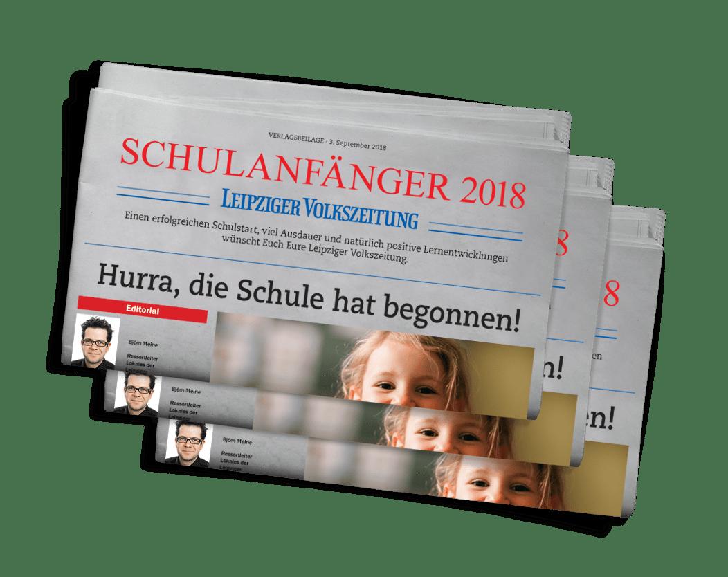 Schulanfänger-Beilage LVZ 2018